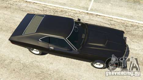 Ford Gran Torino Sport 1972 [Beta] для GTA 5 вид сзади