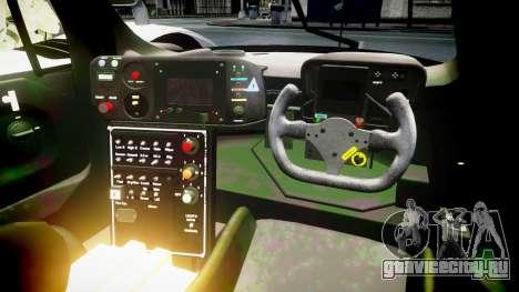 Toyota GT-One TS020 Le Mans 1999 для GTA 4 вид сзади
