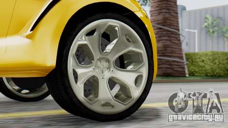 Ford Iosis для GTA San Andreas вид сзади слева