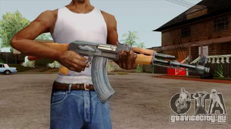 Original HD AK-47 для GTA San Andreas