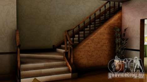Новый интерьер дома CJ для GTA San Andreas шестой скриншот
