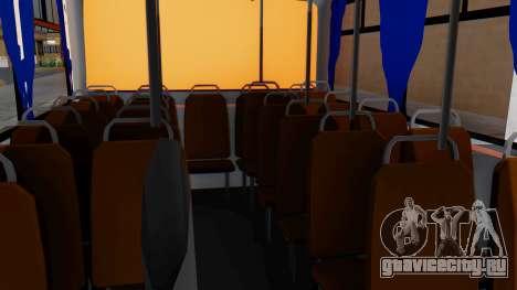 Mercedes-Benz LO-608D Paraguay School Bus для GTA San Andreas вид сзади