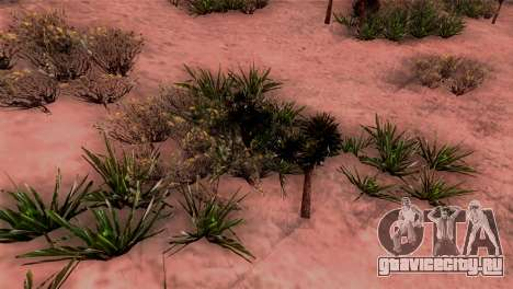 Реальные текстуры растительности для GTA San Andreas третий скриншот