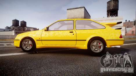 Ford Sierra RS500 Cosworth v2.0 для GTA 4 вид слева