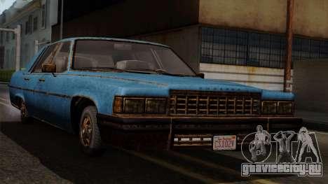 GTA 5 Albany Emperor Worn для GTA San Andreas