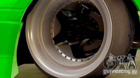 Mazda MX-5 BnSports для GTA San Andreas вид изнутри