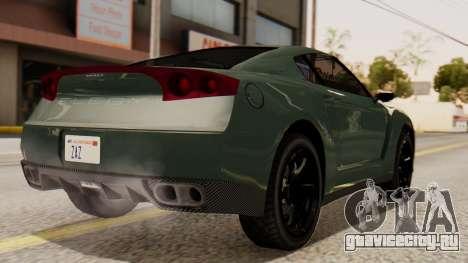 GTA 5 Annis Elegy RH8 SA Style для GTA San Andreas вид слева