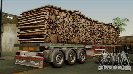 Trailer Cargos ETS2 New v2 для GTA San Andreas вид слева