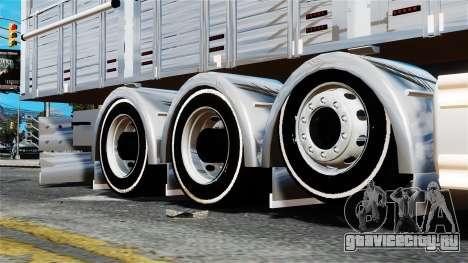 Scania R580 для GTA 4 вид справа