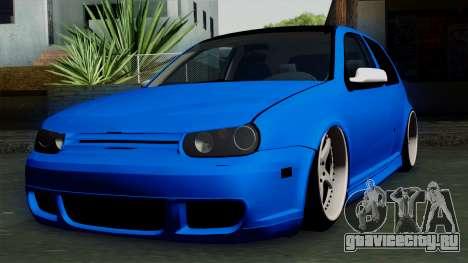 Volkswagen Golf Mk4 Stance для GTA San Andreas
