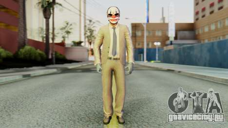 [PayDay2] Chains для GTA San Andreas второй скриншот