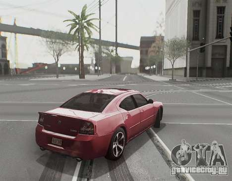 Herp ENB v1.6 для GTA San Andreas второй скриншот