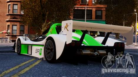 Radical SR8 RX 2011 для GTA 4 вид сзади слева