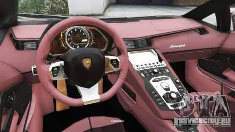 Lamborghini Aventador LP700-4 v0.2 для GTA 5 вид справа
