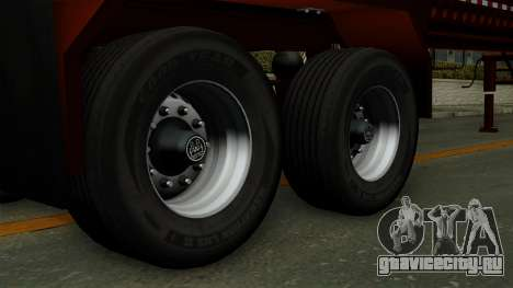 Trailer Log v1 для GTA San Andreas вид сзади слева