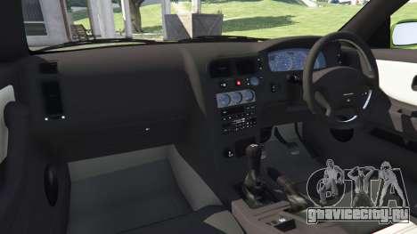 Nissan Skyline BCNR33 [Beta] для GTA 5 вид справа