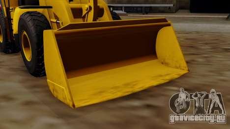 GTA 5 HVY Dozer для GTA San Andreas вид справа