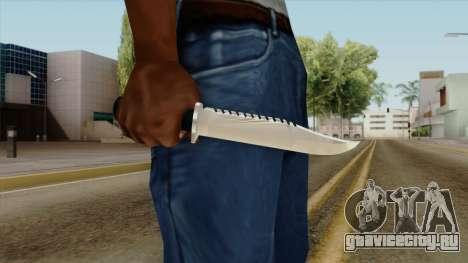 Original HD Knife для GTA San Andreas третий скриншот