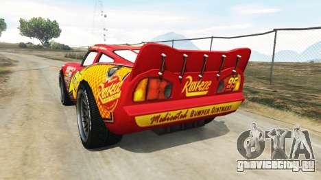 Lightning McQueen [Beta] для GTA 5