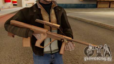 Steyr AUG from GTA VC Beta для GTA San Andreas третий скриншот