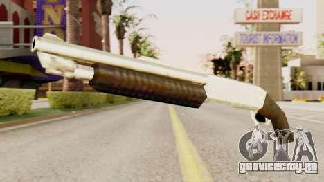 Обрез оригинального помпового ружья для GTA San Andreas