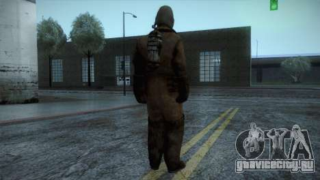 Order Soldier2 from Silent Hill для GTA San Andreas третий скриншот
