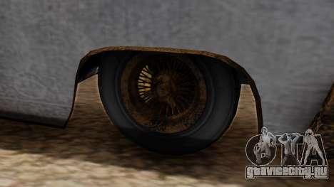 GTA 5 Declasse Voodoo Worn для GTA San Andreas вид сзади слева