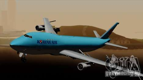 Boeing 747 Korean Air для GTA San Andreas