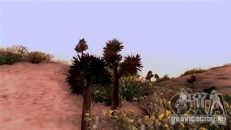 Реальные текстуры растительности для GTA San Andreas второй скриншот
