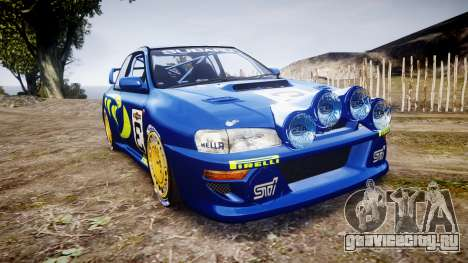 Subaru Impreza WRC 1998 World Rally для GTA 4