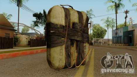 Original HD Satchel для GTA San Andreas