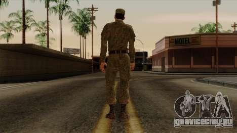 Рядовой современная армия РФ для GTA San Andreas третий скриншот