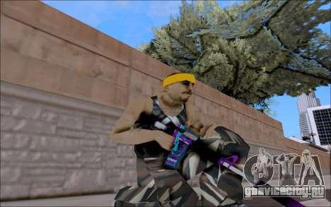 M4A1 Color для GTA San Andreas
