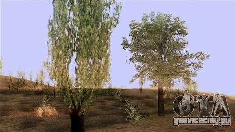 Текстуры деревьев из MGR для GTA San Andreas третий скриншот