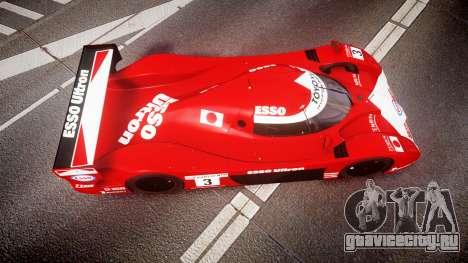 Toyota GT-One TS020 Le Mans 1999 для GTA 4 вид справа