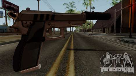 Original HD Silenced Pistol для GTA San Andreas второй скриншот