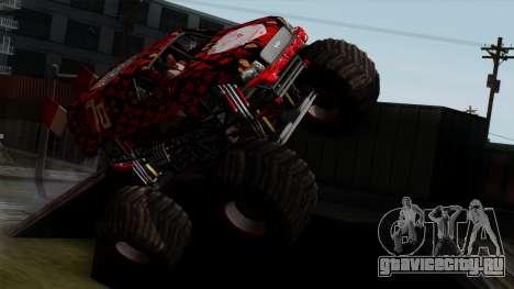 The Seventy Monster v2 для GTA San Andreas вид справа