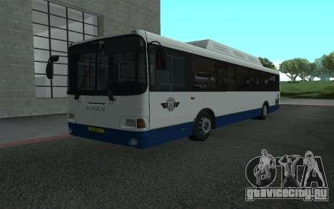 ЛиАЗ 5293.70 для GTA San Andreas вид слева
