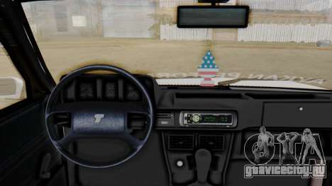 Tofas Turbo SLX 1.6 для GTA San Andreas вид сзади слева