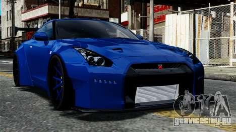 Nissan GT-R R35 Liberty Walk для GTA 4
