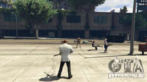 Bodyguard Menu 1.7 для GTA 5 девятый скриншот