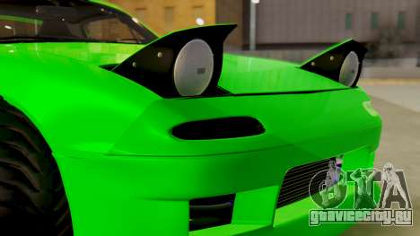 Mazda MX-5 BnSports для GTA San Andreas вид сбоку