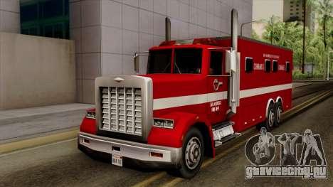 FDSA Mobile Command Post Truck для GTA San Andreas