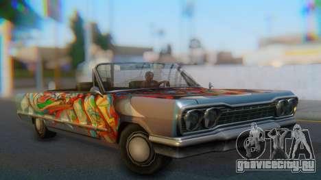 Savanna New PJ для GTA San Andreas вид слева