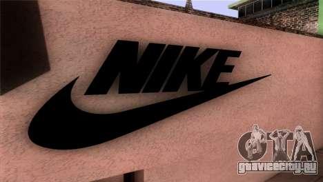 New Shop Nike для GTA San Andreas третий скриншот