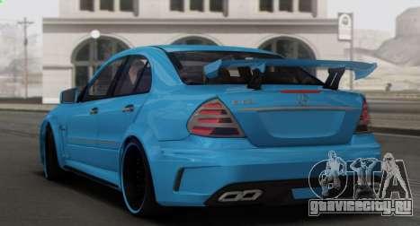 Mercedes-Benz E63 Qart Tuning для GTA San Andreas двигатель