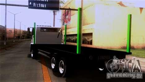 New DFT-30 Wood для GTA San Andreas вид слева