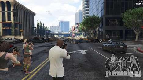 Bodyguard Menu 1.7 для GTA 5 пятый скриншот