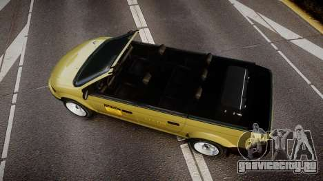 Schyster Cabby LX для GTA 4 вид справа
