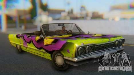 Savanna New PJ для GTA San Andreas